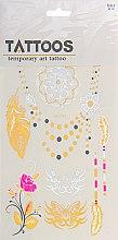 Духи, Парфюмерия, косметика Флэш-тату металлик ABC-041 - Biofarma