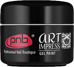 Духи, Парфюмерия, косметика Гель-краска для ногтей - PNB UV/LED Art Impress Gel Paint