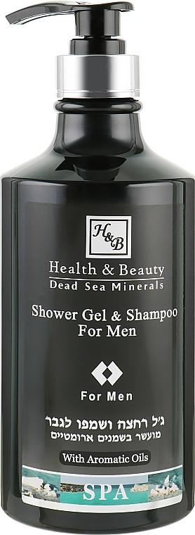 Шампунь-гель для душа для мужчин - Health And Beauty Shower Gel & Shampoo