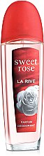 La Rive Sweet Rose - Парфюмированный дезодорант — фото N1