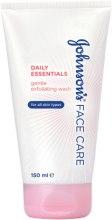 Духи, Парфюмерия, косметика Нежный отшелушивающий гель для умывания - Johnson's® Daily Essentials Gentle Exfoliating Wash