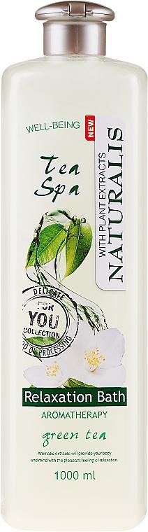Масляная пена для ванны - Naturalis Tea Spa Relaxation Bath