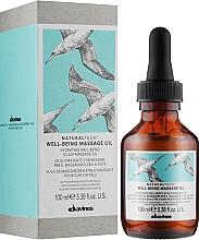 Масажне масло для шкіри голови - Davines Well Being Massage Oil — фото N2