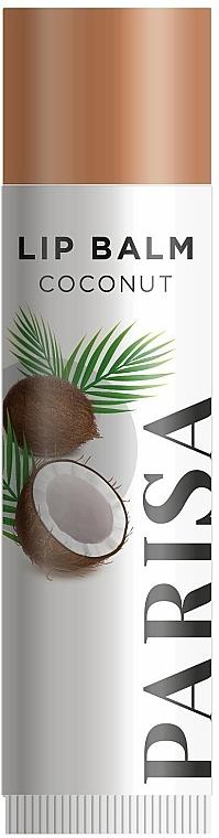 """Гигиеническая помада для губ """"Кокос"""" - Parisa Cosmetics Coconut Lip Balm"""
