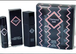 Духи, Парфюмерия, косметика Beautimatic Diamond Noir - Набор (edt/100ml + deo/75ml)