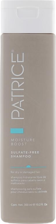 Увлажняющий шампунь для сухих и поврежденных волос - Patrice Beaute Moisture Boost Sulfate-Free Shampoo