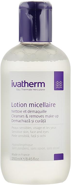 Мицеллярный лосьон для чувствительной кожи - Ivatherm Micellar Lotion Cleanses&removes Make-up