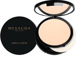 Духи, Парфюмерия, косметика Компактная крем-пудра - Mesauda Milano Skin Illusion Compact Cream