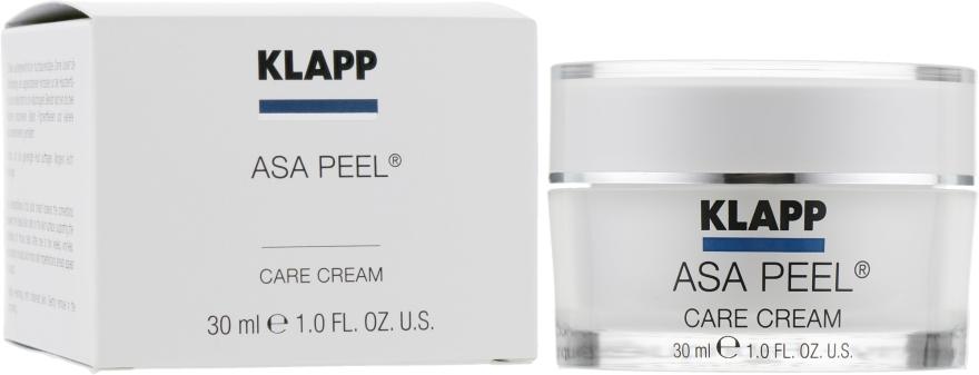 Крем-пилинг для лица - Klapp ASA Peel Cream АСА