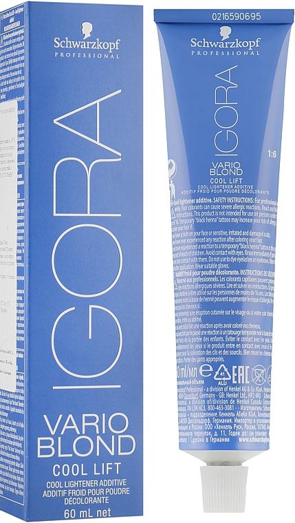 Осветляющий крем для волос - Schwarzkopf Professional Igora Vario Blond Cool Lift — фото N1