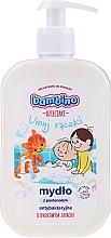 Духи, Парфюмерия, косметика Антибактериальное мыло для рук с пантенолом с фруктовым запахом - Bambino Family Antibacterial Soap
