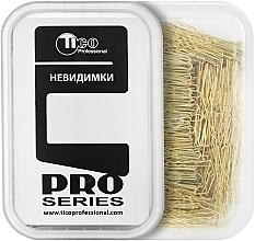 Духи, Парфюмерия, косметика Шпильки для волос волнистые 50мм, золотистые - Tico Professional