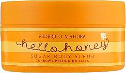 Духи, Парфюмерия, косметика Сахарный пилинг для тела - Federico Mahora Hello Honey Sugar Body Scrub