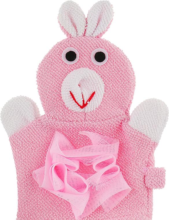 """Детская мочалка-игрушка """"Зайка"""" - Soap Stories"""