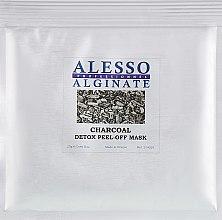 Духи, Парфюмерия, косметика Маска для лица очищающая для стрессовой кожи - Alesso Professionnel Charcoal Detox Peel-Off Mask