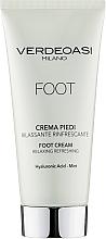 Духи, Парфюмерия, косметика Расслабляющий и освежающий крем для ног - Verdeoasi Foot Cream Relaxing Refreshing