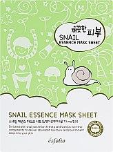 Духи, Парфюмерия, косметика Тканевая маска c улиткой - Esfolio Pure Skin Snail Essence Mask Sheet
