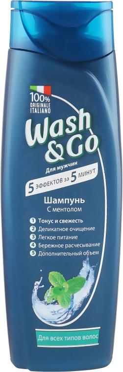 Шампунь с ментолом для всех типов волос - Wash&Go