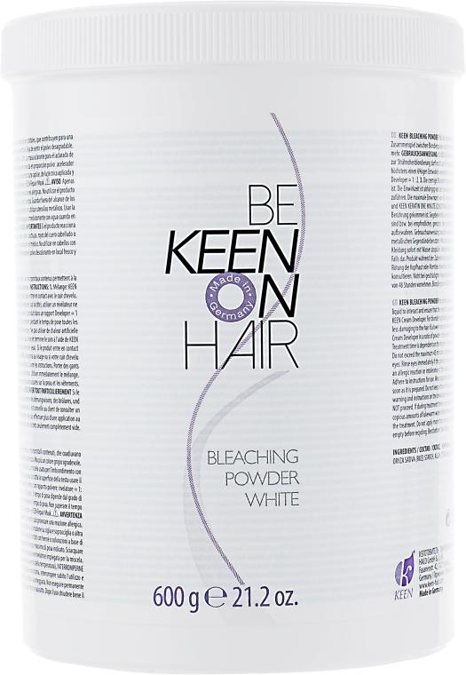 Порошок для блондування, білий - Keen Bleaching Powder — фото N1