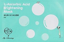 Духи, Парфюмерия, косметика Осветляющая маска с аскорбиновой кислотой - My Scheming L-Ascorbic Acid Brightening Mask