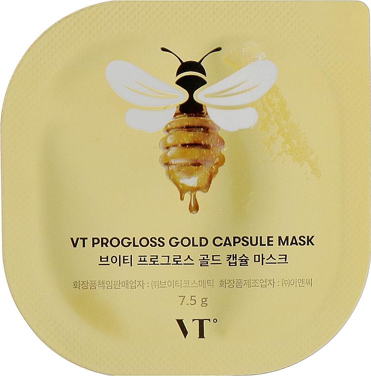 Капсульная маска с прополисом - VT Cosmetics Progloss Capsule Mask