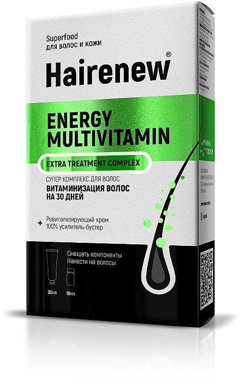 """Инновационный комплекс для волос """"Витаминизация волос на 30 дней"""" - Hairenew Energy Multivitamin Extra Treatment Complex"""