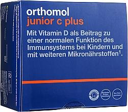 """Духи, Парфюмерия, косметика Витамины для детей """"Junior C Plus"""", апельсин - Orthomol Immun"""