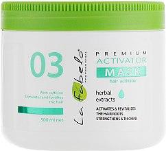 Духи, Парфюмерия, косметика Маска-активатор роста волос - La Fabelo Premium 03 Activator Mask