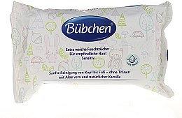 Духи, Парфюмерия, косметика Влажные очищающие салфетки - Bubchen Sensitive Care