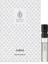 Духи, Парфюмерия, косметика Giardino Benessere Amber - Парфюмированная вода (пробник)