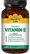 Духи, Парфюмерия, косметика Витамин Е - Country Life Vitamin E 400 IU