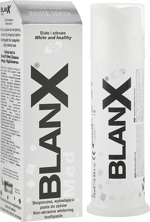 "Зубная паста ""Отбеливающая"" - Blanx Denti Bianchi White Teeth"