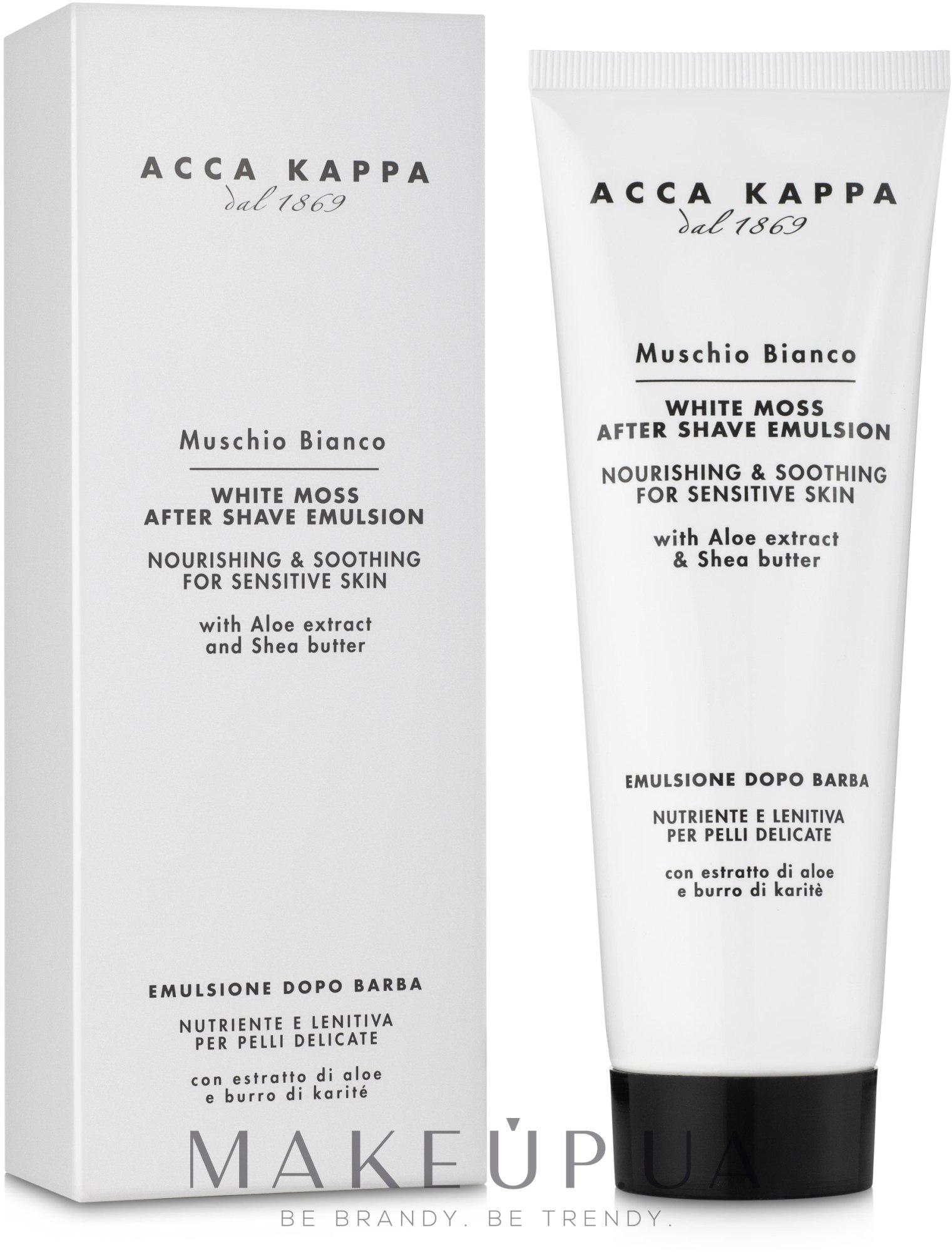 Емульсія після гоління - Acca Kappa White Moss After Shave Emulsion — фото 125ml