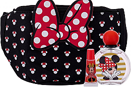 Духи, Парфюмерия, косметика Disney Minnie Mouse - Набор (edt/50ml + lip/balm/3,5g + bag)