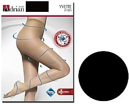 "Духи, Парфюмерия, косметика Колготки для женщин ""Yvette"" -20 Den, Nero - Adrian"