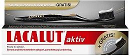 Духи, Парфюмерия, косметика Набор - Lacalut Aktiv (t/paste/75ml + t/brush/1шт)