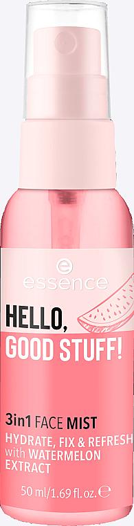 Фиксирующий спрей-мист 3 в 1 - Essence Hello Good Stuff! 3 in 1 Face Mist