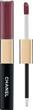 Духи, Парфюмерия, косметика Дуэт для макияжа губ со стойким эффектом - Chanel Le Rouge Duo Ultra Tenue