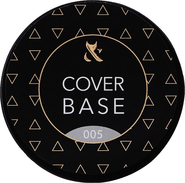 Базовое камуфлирующее покрытие для ногтей (банка) - F.O.X Cover Base