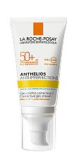 Парфумерія, косметика Сонцезахисний корегуючий гель-крем для жирної, проблемної та схильної до акне шкіри обличчя з дуже високим ступенем захисту, SPF 50+ - La Roche-Posay Anthelios Anti-Imperfections SPF50+