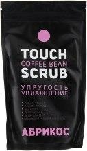 """Духи, Парфюмерия, косметика Кофейный скраб """"Абрикос"""" - Touch Coffee Bean Scrub"""