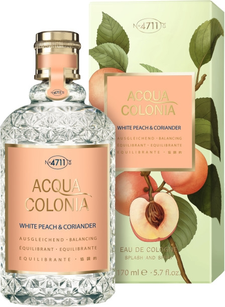 Maurer & Wirtz 4711 Acqua Colonia White Peach & Coriander - Одеколон