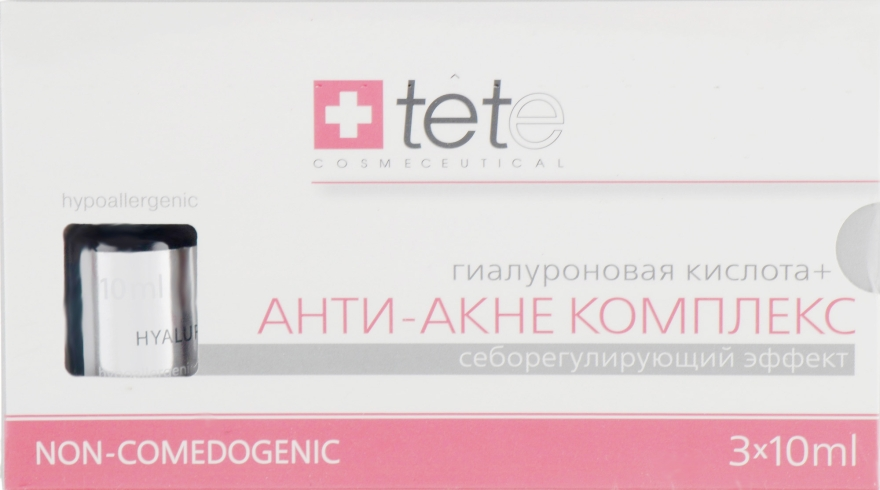 "Сыворотка ""Гиалуроновая кислота + Анти-акне комплекс"" - TETe Cosmeceutical Hyaluronic Acid"