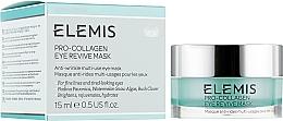 Духи, Парфюмерия, косметика Крем-маска для глаз против морщин - Elemis Pro-Collagen Eye Revive Mask