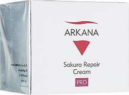 Восстанавливающий ночной крем для чувствительной кожи - Arkana Sakura Repair Cream — фото N1