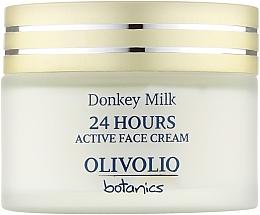 """Духи, Парфюмерия, косметика Активный крем для лица """"Ослиное молоко"""" - Olivolio Donkey Milk 24 Hours Active Face Cream"""