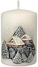 """Духи, Парфюмерия, косметика Декоративная свеча """"Рождественский домик"""", 7x10 см - Artman Christmas House Candle"""
