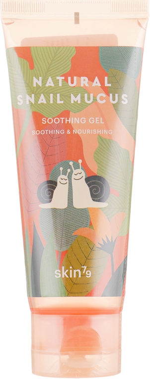 Успокаивающий гель со слизью улитки - Skin79 Natural Snail Mucus Soothing Gel