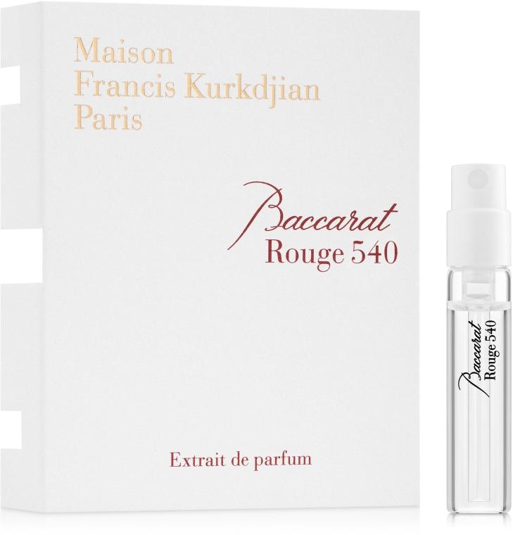 Maison Francis Kurkdjian Baccarat Rouge 540 - Духи (пробник)