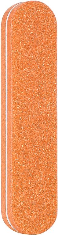 Баф полировочный одноразовый овальный 100х180, PF-20, оранжевый - Puffic Fashion